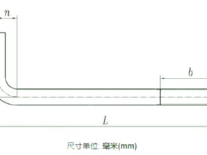 L形地脚螺栓 HG /T 21545 (IIb) - 2006