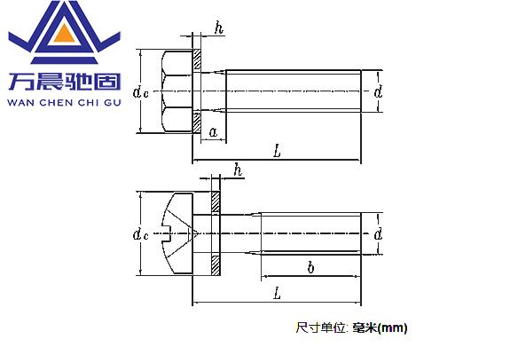 螺栓或螺钉和平垫圈组合件-