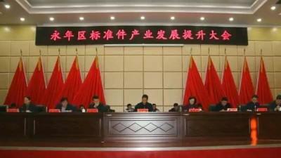永年区委书记侯有民调研督导标准件产业规范提升工作