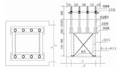 地脚螺栓预埋精度如何控制