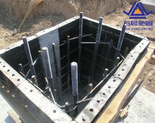 钢结构地脚螺栓厂房地基施工