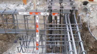 地脚螺栓施工安装