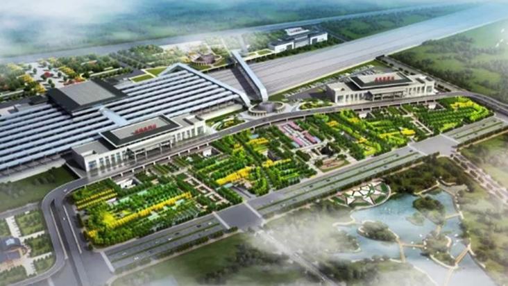 洛阳龙门站综合交通枢纽