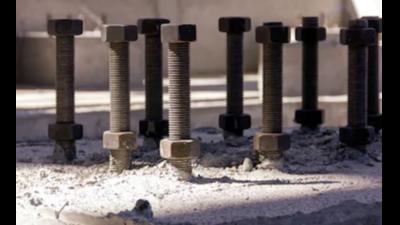 基础厂家地脚螺栓安装