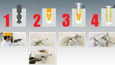 膨胀螺栓相关施工安装标准