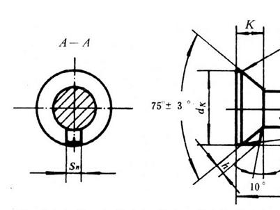 GB 11-88 沉头带榫螺拴