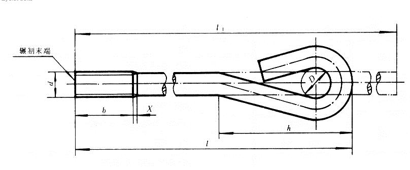 9字地脚螺栓