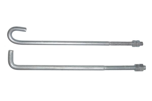 【万晨弛固】l型地脚螺栓j型地脚螺栓