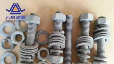 热镀锌地脚螺栓应用