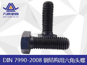 DIN 7990-2008 钢结构用六角头螺栓