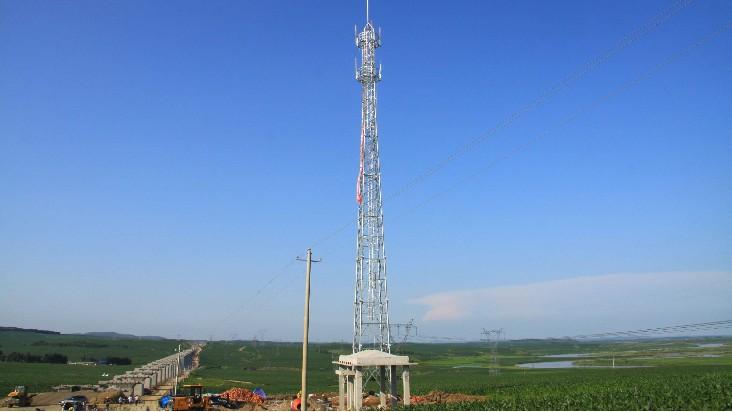 万晨紧固件公司参与移动通讯塔建设