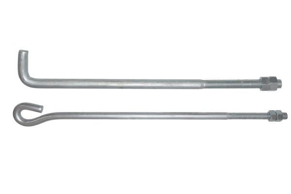 【万晨弛固】l型地脚螺栓9字型地脚螺栓