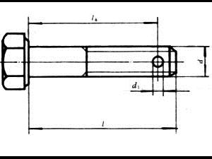 GB 31.1-88 六角头螺杆带孔螺栓
