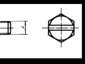 GB 29.1-88 六角头头部带槽螺栓 A 和 B 级