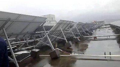 """台风""""利奇马""""来袭,光伏电站该如何支撑!"""