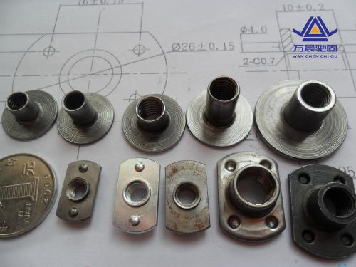 焊接螺母需要注意事项