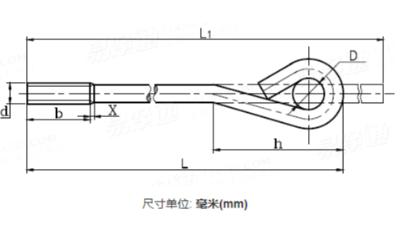 GB 799 - 1988 地脚螺栓