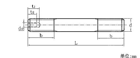 JB /ZQ 4756 - 2006 地脚螺柱