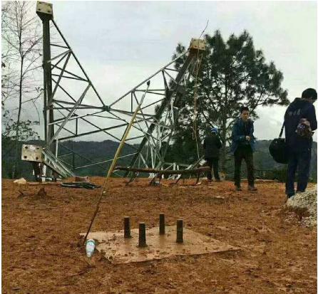电网地脚螺栓施工