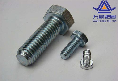 不锈钢螺栓的种类、强度等级划分
