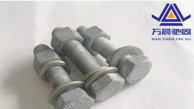 热镀锌螺栓也称热浸锌螺栓