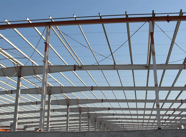 屋顶钢结构来套