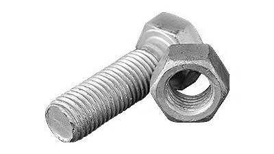 工业上常用热镀锌螺栓种类
