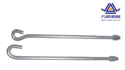 在建筑工地使用的钢架构地脚螺栓材质