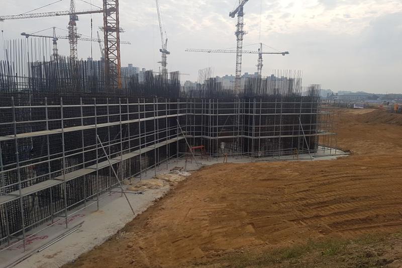 建筑工地地脚螺栓