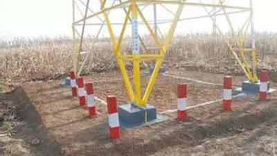 铁塔地脚螺栓预埋深度