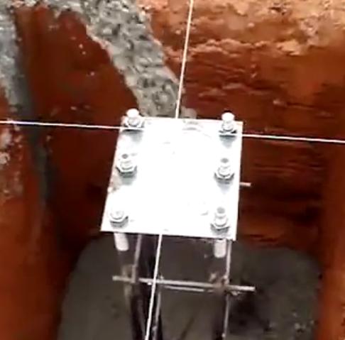 地脚螺栓施工方案