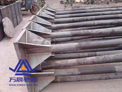 地脚螺栓安装及损坏后处理方法